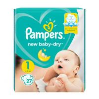 Подгузники Pampers New Baby-Dry Newborn (2-5кг)